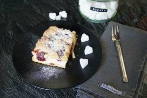 Backen | Ein schneller Quark-Streuselkuchen mit Obst