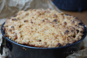 Read more about the article Omas Quark-Apfel-Streusel- Torte